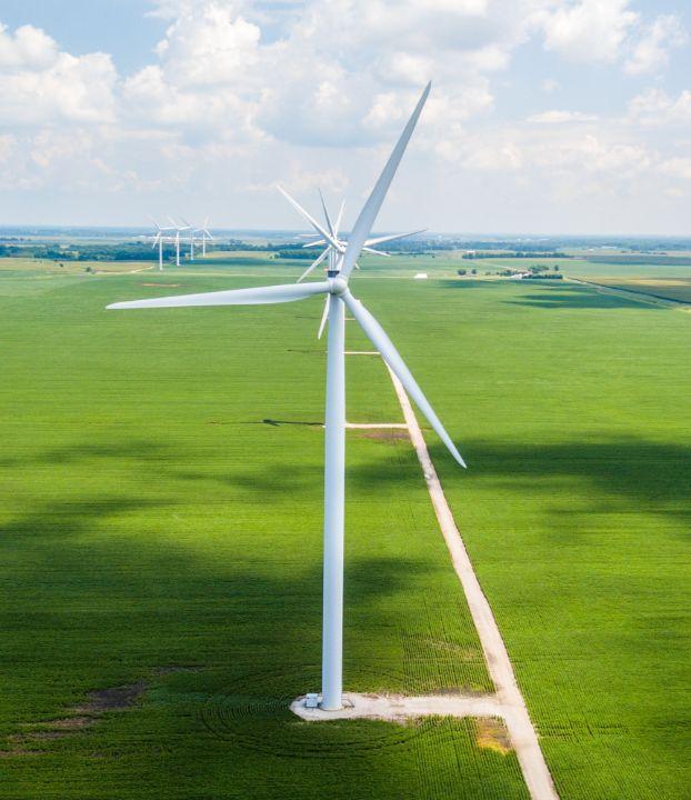 éolienne énergie renouvelable cleantech vallée