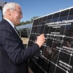Inauguration du parc photovoltaïque d'Aramon