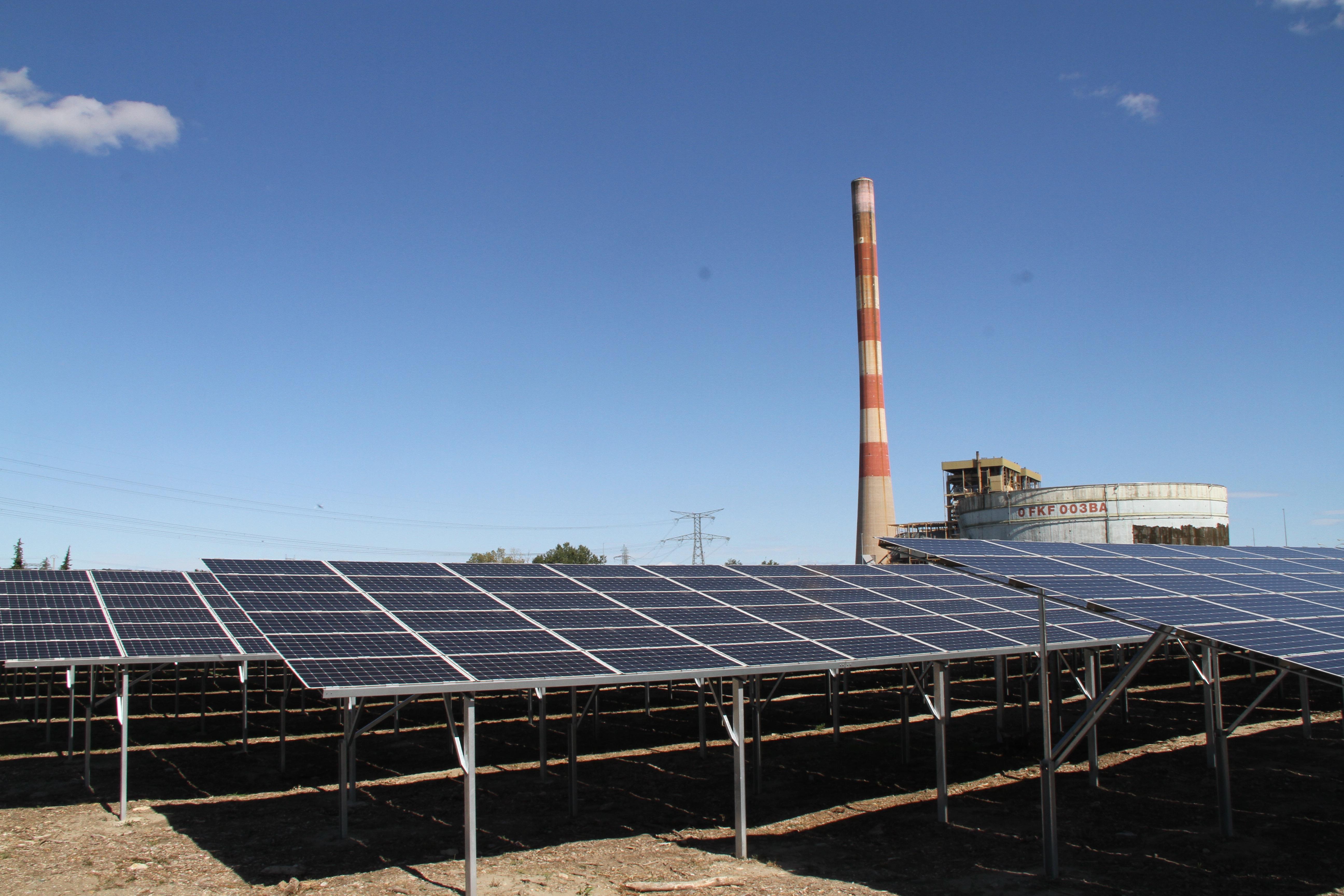centrale aramon EDF cleantech vallée