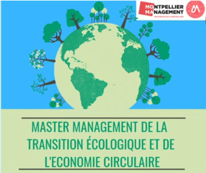 Inauguration du Master Transition Ecologique