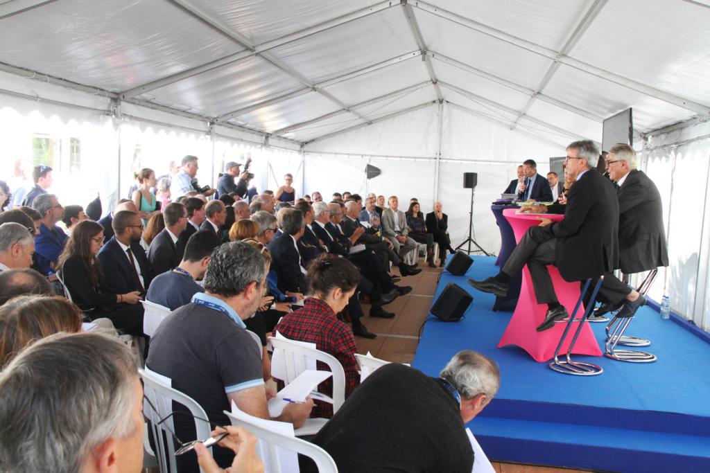 inauguration cleantech booster cleantech vallée partenaires