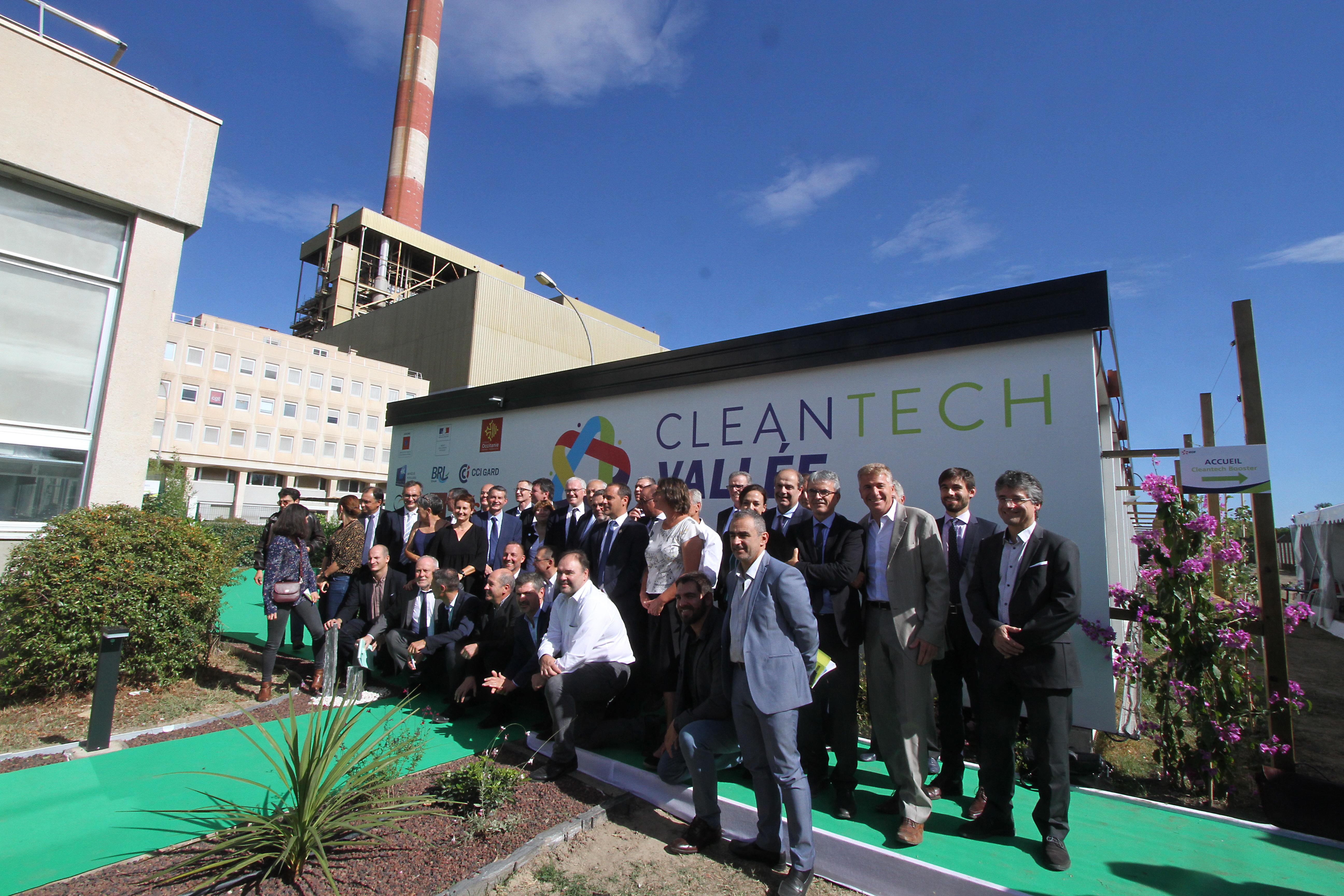 cleantech vallée membres fondateurs partenaires