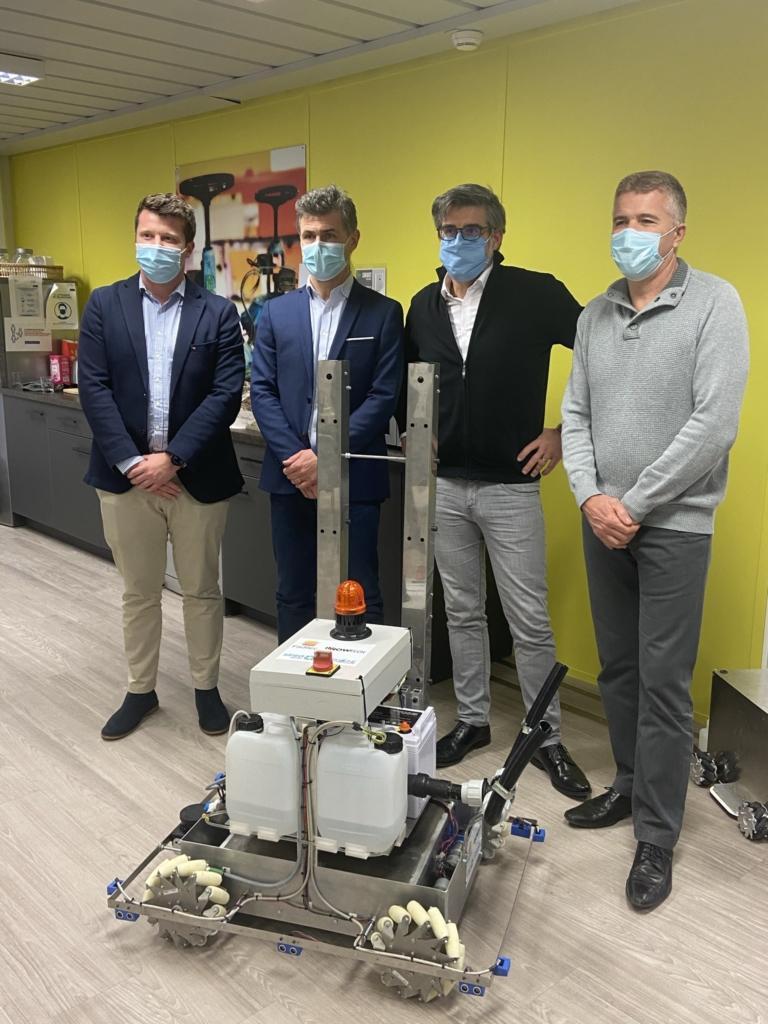 ReCOVery robot décontamination CES2021