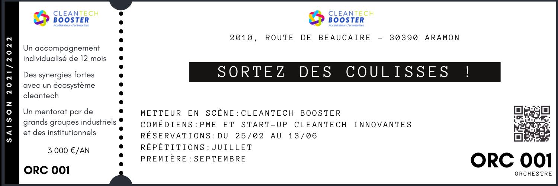 cleantech booster innovation occitanie gard