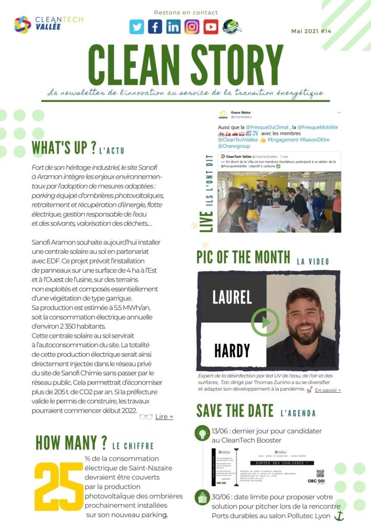 newsletter cleantech vallée cleantech booster actualités